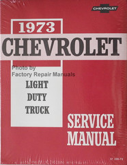 1973 Chevrolet Light Duty Truck Service Manual