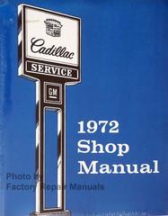 1972 Cadillac Shop Manual