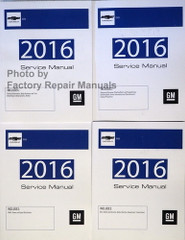2016 Chevrolet SS Service Manuals Volumes 1, 2, 3, 4