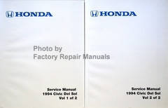 Honda Service Manual 1994 Civic Del Sol Volume 1, 2