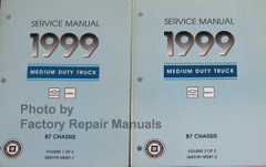 Service Manual 1999 Chevy GMC B7 Bus Chassis Volume 1, 2