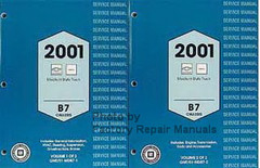 Service Manual 2001 Chevy GMC B7 Bus Chassis Volume 1, 2