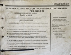 Ford 1996 F150-450 Electrical and Vacuum Troubleshooting Manual