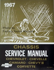 1967 Chevrolet Bel Air Camaro Corvette Chevelle El Camino Impala Chassis Service Manual