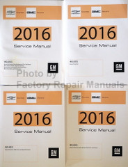 2016 Chevrolet Express GMC Savana GM Service Manual Volume 1, 2, 3, 4