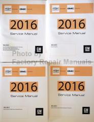 2016 Chevrolet Express GMC Savana GM Service Manual Volume 1, 2, 3, 4