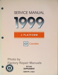 Service Manual 1999 J-Platform Chevrolet Cavalier Bi-Fuel Supplement