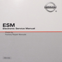 2018 Nissan NV200 Taxi ESM Electronic Service Manual CD