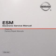 2018 Rogue Nissan Sport ESM Electronic Service Manual CD