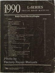 Ford L-Series 1990 Service Manual