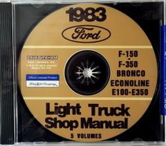 1983 Ford Light Truck Shop Manuals 5 Volumes
