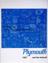 Plymouth 1967 Service Manual