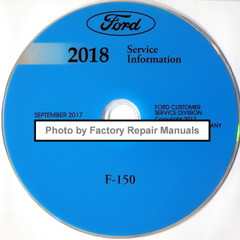 2018 Ford F-150 Service Information