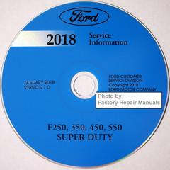 Ford 2018 Service Information F250 F350 F450 F550 Super Duty