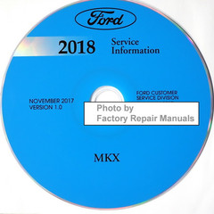 Ford 2018 Service Information Lincoln MKX