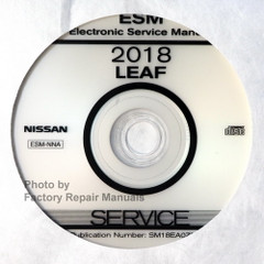2018 Nissan LEAF Electronic Service Information Manual CD