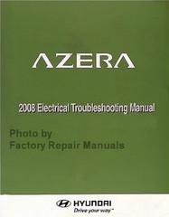 Azera 2008 Electrical Troubleshooting Manual Hyundai