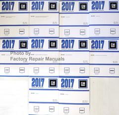 2017 Silverado, Sierra, Sierra Denali Service Manual Volume 1, 2, 3, 4, 5, 6, 7, 8, 9, 10
