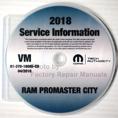 2018 Ram Promaster City Service Information CD