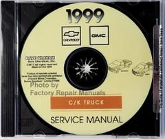 Service Manual 1999 C / K Truck Chevrolet Silverado GMC Sierra CD