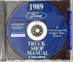 1989 Ford Light Duty Truck, F150, F250, F350, F-Super Duty, Econoline, Bronco Shop Manual Volume 1, 2, 3
