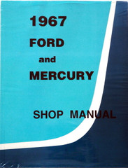 1967 Ford and Mercury Large Car Shop Manual