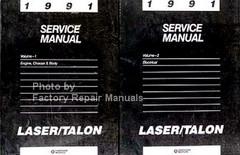 1991 Service Manual Laser/Talon Volume 1, 2