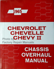 1965 Chevrolet Chevelle Chevy II Chassis Overhaul Manual