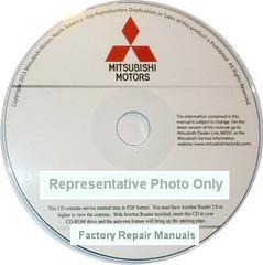 2018 Mitsubishi Eclipse Cross Service Manual CD