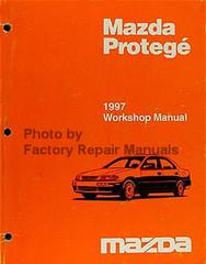 Mazda Protege 1997 Workshop Manual