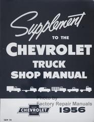 1956 Chevrolet Truck Shop Manual Supplement
