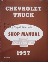 1957 Chevrolet Truck Shop Manual