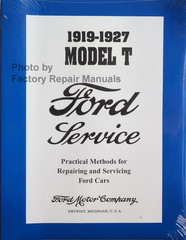 1919 - 1927 Ford Model T Service Manual