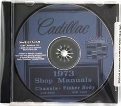 1973 Cadillac Shop Manual and Fisher Body Manual