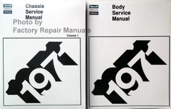 1971 Chrysler and Plymouth Chassis Service Manual and Body Service Manual