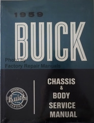 1959 Buick Chassis & Body Service Manual