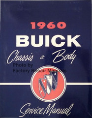 1960 Buick Chassis & Body Service Manual