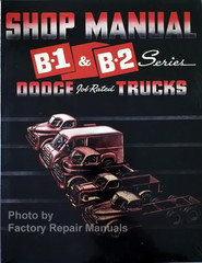 1948-1950 Dodge Truck Shop Manual B-1 & B-2 Series