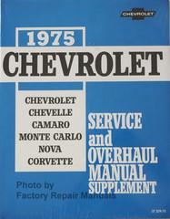 1975 Chevrolet Chevelle, Camaro, Monte Carlo, Nova, Corvette Service Manual