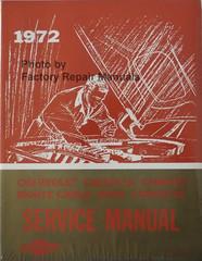 1972 Chevrolet Camaro, Corvette, Monte Carlo, Nova, Chevelle Service Manual