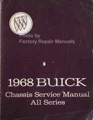 1968 Buick Chassis Service Manual All Series