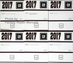 Chevrolet 2017 Cruze GM Service Manual Volume 1, 2, 3, 4, 5, 6