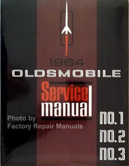 1964 Oldsmobile 98, Dynamic, F-85, Jetstar, Starfire, Super 88, Vista Cruiser Service Manual Volume 1, 2, 3, 4, 5