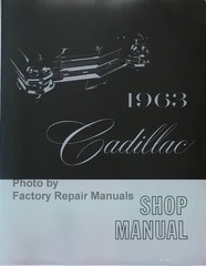 1963 Cadillac Shop Manual