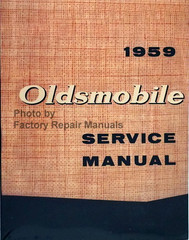 1959 Oldsmobile Shop Manual