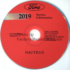 2019 Lincoln Nautilus Service Information