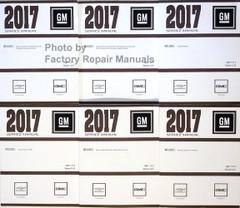 2017 Chevrolet Colorado GMC Canyon Service Manual Volume 1, 2, 3, 4, 5, 6