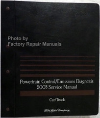 2003 Ford Lincoln Mercury Car and Truck Powertrain Control / Emissions Diagnosis Service Manual