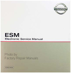 2019 Nissan Murano ESM Electronic Service Manual CD