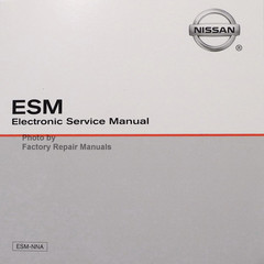 2019 Rogue Nissan Sport ESM Electronic Service Manual CD